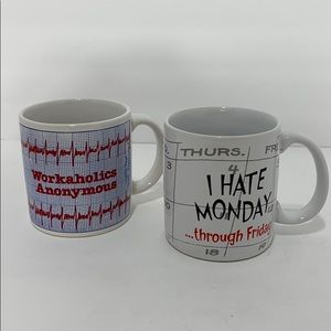 The BiPolar Workweek Mug Set